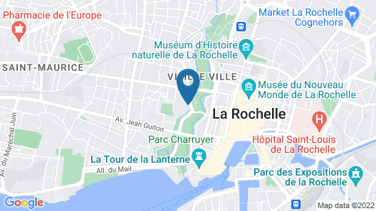 Novotel La Rochelle Centre Map