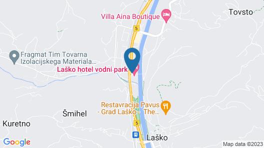 Thermana Park Laško Map