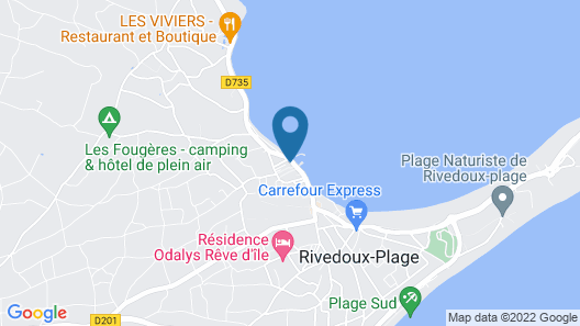 Hotel La Maree Map