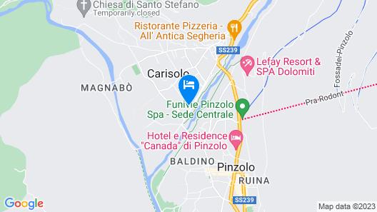 Hotel Garni La Felce Map