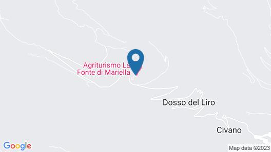 Agriturismo La Fonte di Mariella Map