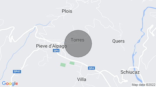 2 Bedroom Accommodation in Torres Alpago Map