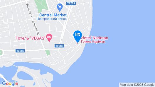 Hotel Nariman Map