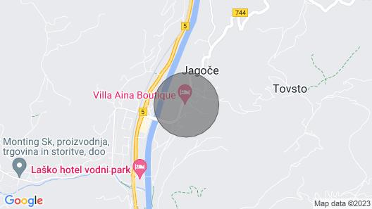 2 Bedroom Accommodation in Lasko Map