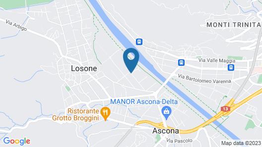 Albergo Losone Map