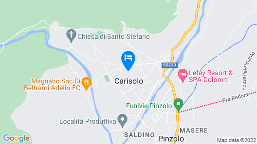 1 Bedroom Accommodation in Carisolo -tn- Map
