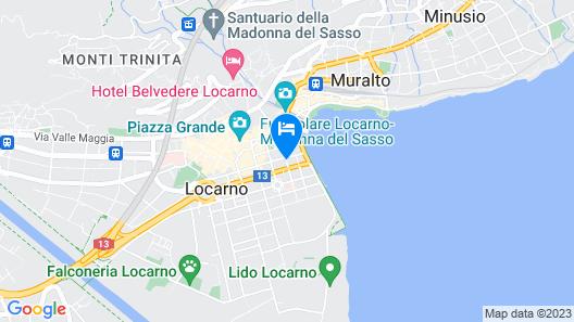 ibis Locarno Map