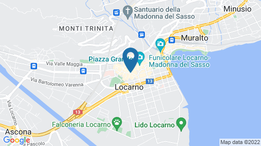 Hotel dell'Angelo Map