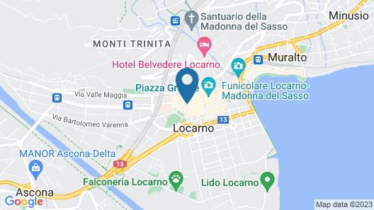Residenza Motta Map