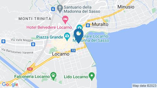 Hotel City Locarno, Design & Hospitality Map