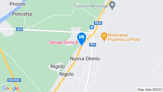 Spluga Sosta & Hotel Map
