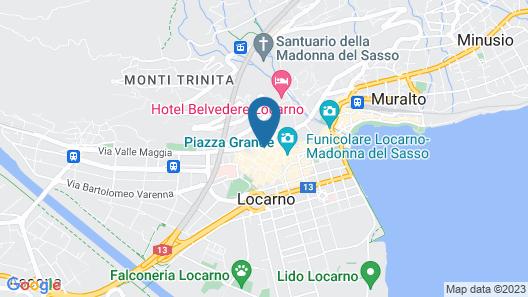 Caffè dell'Arte Boutique Rooms Map
