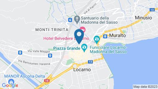 Boutique Hotel La Rinascente Map