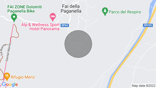 2 bedroom accommodation in Fai della Paganella Map