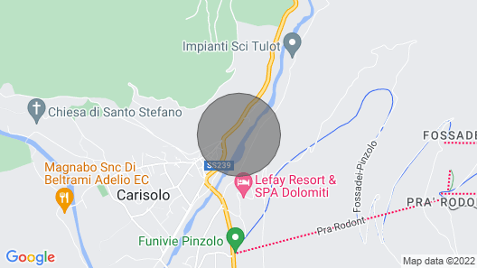 Apartment Holidays Dolomiti in Pinzolo - 8 Persons, 3 Bedrooms Map