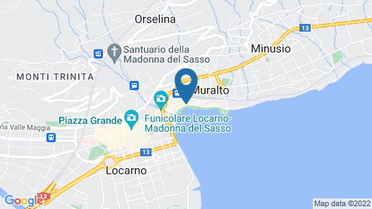 Hotel Geranio Au Lac Map