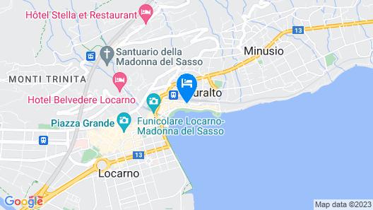 Hotel Lago Maggiore Map