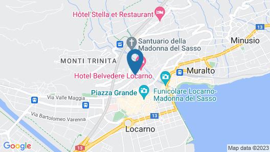 Hotel Belvedere Locarno Map