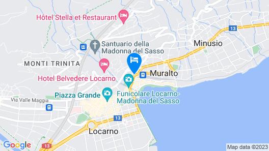 Hotel Garni Montaldi Map