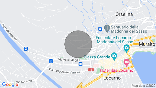 Apartment Residenza Solemonte in Locarno - 2 persons, 1 bedrooms Map