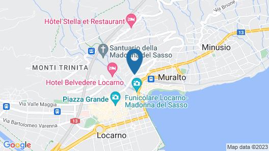 Hotel Garni Muralto Map