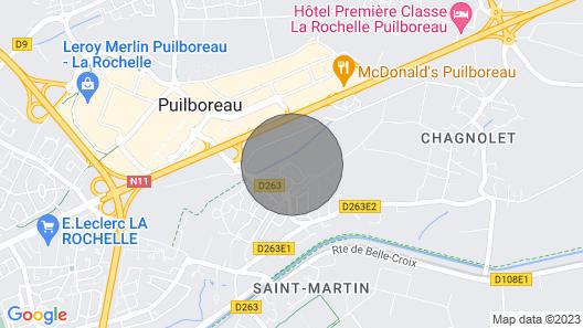 Housing, Full Foot, 5mn La Rochelle Map