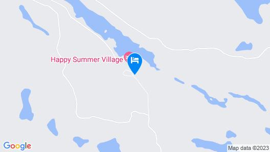 Happy Landing Lodge Map
