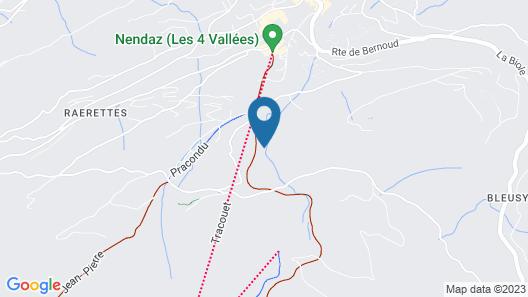 Chalet Perles des Alpes Map