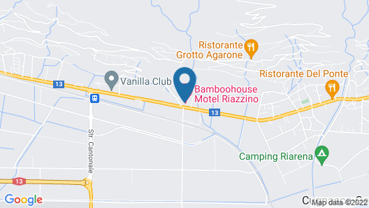 Bamboohouse Motel Riazzino Map