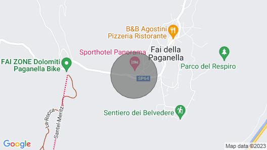 Montanara Chalet apartments Map