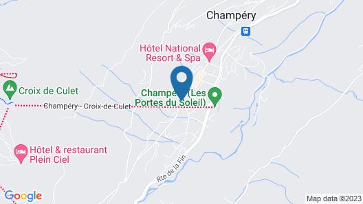 Hôtel de la Paix Map