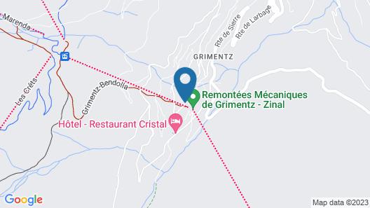 Chalet Les Rahâs Grimentz Map