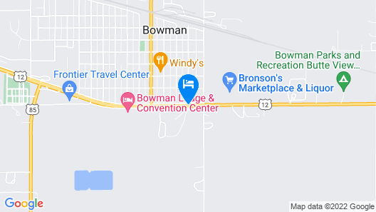Bowman Lodge & Convention Center Map