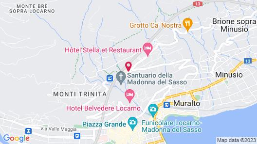 Villa Orselina – Small Luxury Hotels Map