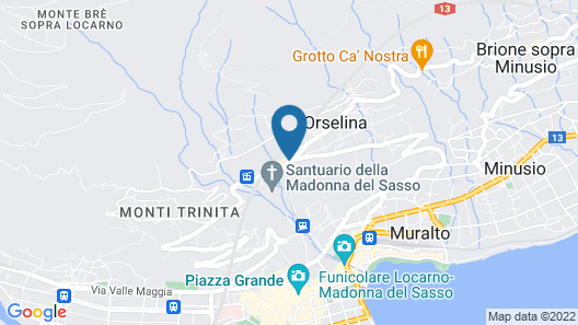 Villa Orselina – Small Luxury Hotels Map
