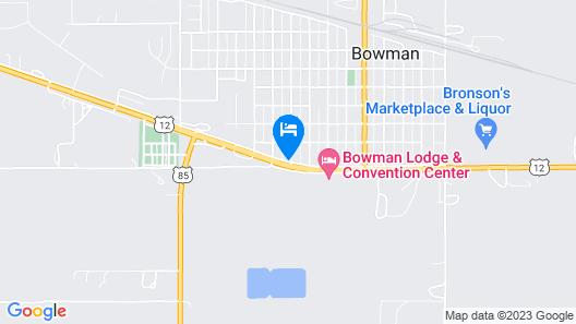 Bowman Inn & Suites Map