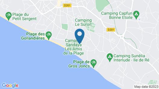 Hôtel Ile de Ré Map