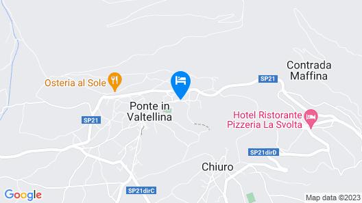 Hotel Albrici Map