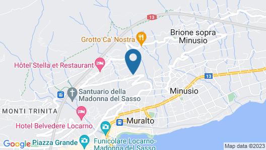 Villa Kaissini Map