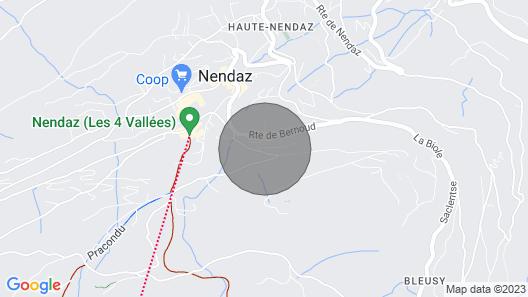 Doux Douze - Mountain & View Chalet 9 prs Map
