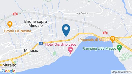 Minusio-Locarno Navengana Apt. 3 Map