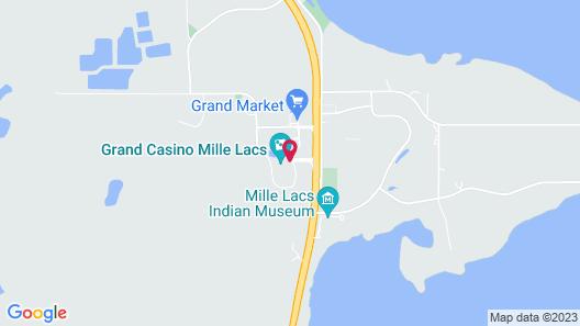 Grand Casino Mille Lacs Map