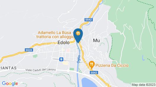 Euro Hotel Map