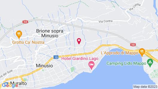 E-Rooms Minusio Map