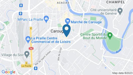 Auberge Communale de Carouge Map