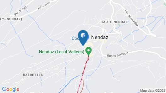 Hôtel Nendaz 4 Vallées & Spa Map