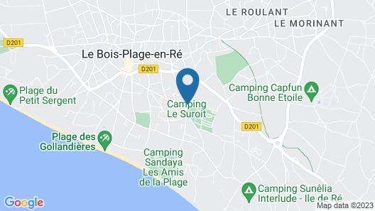 La Villa Hôtel Bien Être Map