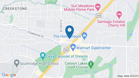 Baymont by Wyndham Tri-Cities/Kennewick WA Map