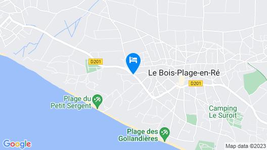 Hôtel Jerodel Map