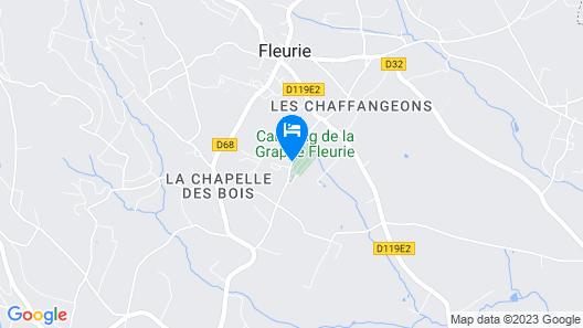 Hotel Des Grands Vins Map